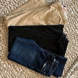 The Limited & WHBM Lot! 3 pants- size 2&4
